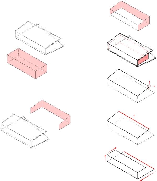 Folded geometry